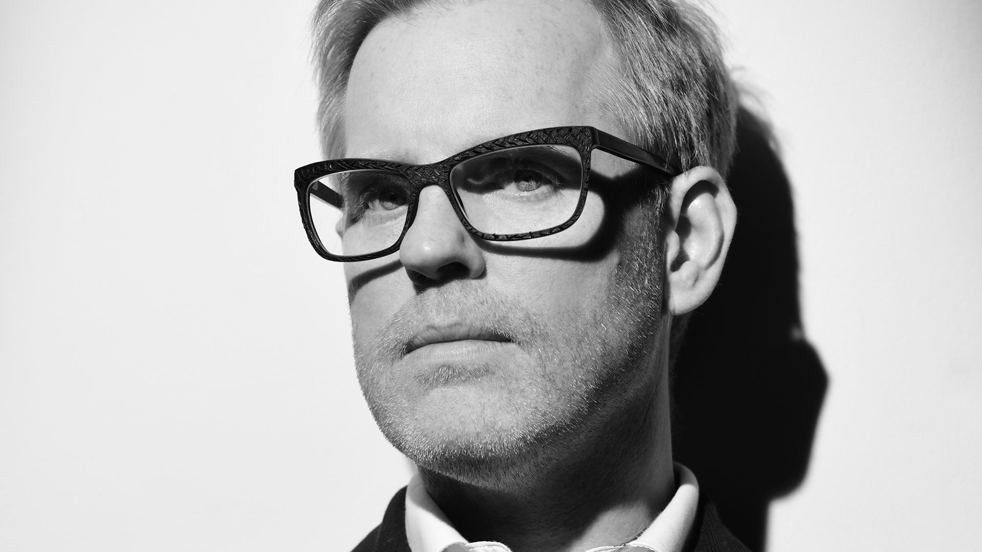 British eyewear designer Tom Davies